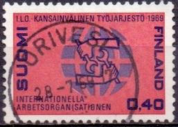 Finland 1969 50 Jaar ILO GB-USED