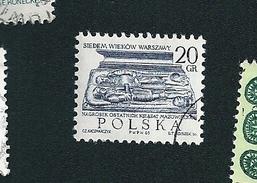N° 1451  7ème Cent. De Varsovie : Tombeau    Timbre   Pologne Oblitéré/ Neuf  Polska 1965