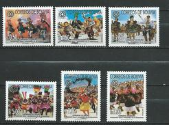 Bolivia 2002 Cultural Heritage, Oruro Carnival.MNH