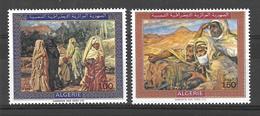 Timbres D'Algérie - Tableaux De Dinet - Neuf MNH