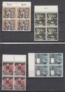 Germania Federale - 1957 - Mi. 270/273 **
