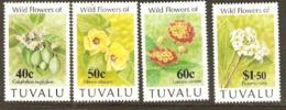 Tuvalu 1993  SG 684-7 Wild Flowers Unmounted Mint