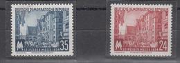 DDR - 1954 - Mi. 433/434 **