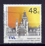 BRD LVZ Leipzig Nr.7         O  Used       (014) Mit Trägerpapier - [7] Federal Republic
