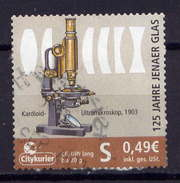 BRD Citykurier Gera Nr.31         O  Used       (016) Mit Trägerpapier - [7] Federal Republic