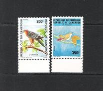 CAMEROUN (1992) - Mi 1196/97**MNH - OISEAUX / BIRDS - Cameroun (1960-...)