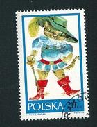 N° 1678 Chat Botté    Timbre   Pologne Oblitéré/neuf   Polska 1968