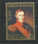 Bolivia 2005 Otto Felipe Braun.Landgraviate Of Hesse-Kassel.Germany.MNH