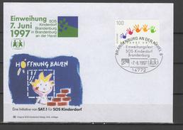 Germany 1997 Children Youth, SOS Children Village Commemorative Cover