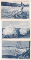 Be - Lot De 4 Cpa ESQUIMAUX - Missions Des Oblats De Marie Immaculée - Nunavut