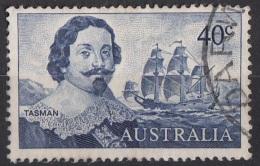 412 Australia 1966 Abel Tasman  (1603-1659) Viaggiato Used Veliero