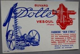 "Buvard ""Dollé"" Vesoul, Faucheuse ""bain D'huile"" - Agriculture"