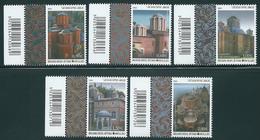 Greece 2012 Agion Oros - Mount Athos Katholika Of The Holy Monasteries II Set MNH - Grecia