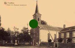 Froidthier ( Thimister Clermont ) Eglise Saint Gilles Et Monument Aux Morts ( Guerre 14/18 ) - Thimister-Clermont