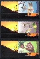 Namibie Namibia 1264/66 Chauve-souris