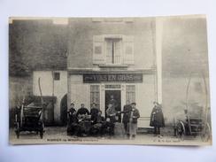 """CPA 70 Noroy Le Bourg  - Magasin De """"vin En Gros"""" 1906 - Autres Communes"""