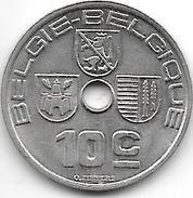 Belguim 10 Centimes 1939 Dutch     Xf+ !!!!! - 02. 10 Centimes