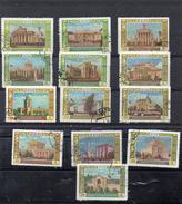 Russie 1956 - Série Complète  Exposition Agricole à Moscou YT 1786/98  Obl