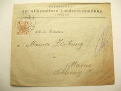 1894 , LEMBERG - Ausstellung , Brief