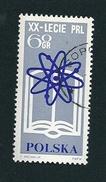N° 1369 Anniversaire De La République Lecie PRL   Timbre   Pologne Oblitéré/neuf   Polska 1964