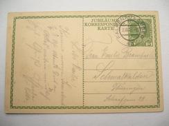 1913 ,  FALKENAU An Der Eger , Klarer Stempel Auf Ganzsache