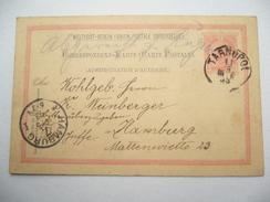 1893 , TARNOPOL , Klarer Stempel Auf Ganzsache