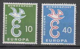 Europa Cept - Germania Federale 1958 - Mi. 295/296 ** - Europa-CEPT