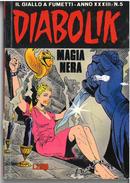 DIABOLIK ANNO XXXIII N. 5 – 1 AGOSTO 1994 MAGIA NERA - Diabolik