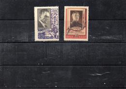 Russie 1956 -  YT 1811 Et 1816 * Ou **