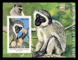 Namibia 2004 Mih. 1119 (Bl.59) Fauna. Year Of The Monkey MNH **