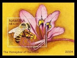 Namibia 2004 Mih. 1125 (Bl.60) Fauna. Bees MNH **