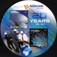 Namibie Namibia Bf 083 Télécom , Satellite , Fibre Optique