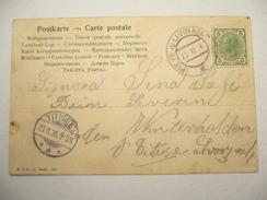 1906 , PIEVE Di Livinallo , Klarer Stempel Auf Karte