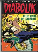 DIABOLIK ANNO XXXVI N. 3 – 1 MARZO 1997 NELLE SPIRE DEL SERPENTE - Diabolik