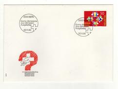 Enveloppe 1er Jour Oblitération 3000 BERN 20/11/1990