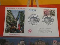 France > FDC > 1960-69 > Anniversaire De La Libération De Paris Août 1944 - 22.8.1964- 1er Jour, Coté 4 € - FDC