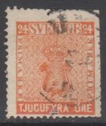 SUEDE 1858-70 1 TP Armoiries N° 9 Y&T Oblitéré - Suède
