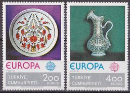Eur_ Türkei - Mi.Nr. 2385 - 2386 - Postfrisch MNH - Europa CEPT 1976 - Europa-CEPT