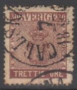 SUEDE 1858-70 1 TP Armoiries N° 10 Y&T Oblitéré - Suède