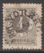 SUEDE 1872-85 1 TP Chiffre N° 17A Y&T Oblitéré - Suède