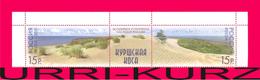 RUSSIA 2010 Sea Landscape Curonian Spit Of Land World Culture Heritage 2v+label Se-tenant Mi 1659-1660Zf MNH