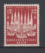 Deutsches Reich / 800 Jahre Hansestadt Lübeck / Michel 862 - Deutschland