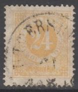 SUEDE 1872-85 1 TP Chiffre N° 22A Y&T Oblitéré - Suède
