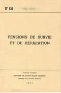 ABL Pensions De Survie Et De Reparation 1971 - Livres