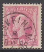 SUEDE 1886-99 1 TP Oscar II N° 34 Y&T Oblitéré