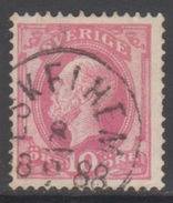SUEDE 1886-99 1 TP Oscar II N° 34 Y&T Oblitéré - Suède