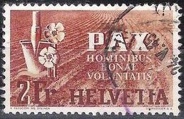 PAX 1945: Zu 271 Mi 456 Yv 414 Mit Unlesbarem O Vom 24.V.45 (Zumstein CHF 250.00) Zu 10% Start !