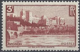 FRANCE LE PONT D'AVIGNON ET LE PALAIS DES PAPES N°391 1938 NEUF ** LUXE MNH