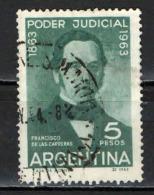ARGENTINA - 1963 - FRANCISCO DE LAS CARRERAS - SUPREMA CORTE DI GIUSTIZIA - USATO - Argentina
