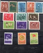 RUSSIE 1956 - Série Compléte 6 éme SpartakiadeYT1829/42  ** Ou *